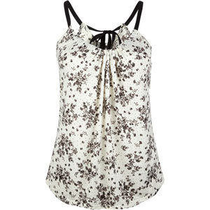 FULL TILT Floral Ribbon Womens Tank Tillys.com