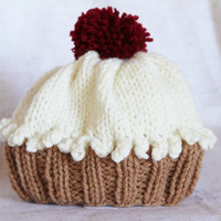 Cupcake Hat - Infant Size - Ready to Ship