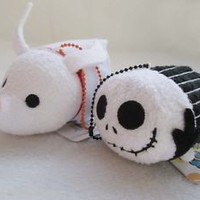 Disney TSUM TSUM Jack Skellington ZERO Nightmare Before Christmas Mini Plush Toy