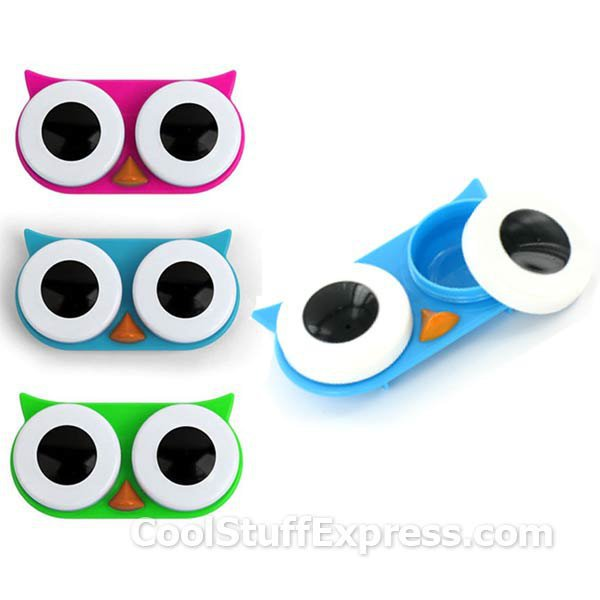 Owl Contact Lens Case - A Wise Place To Store Your Contact Lenses