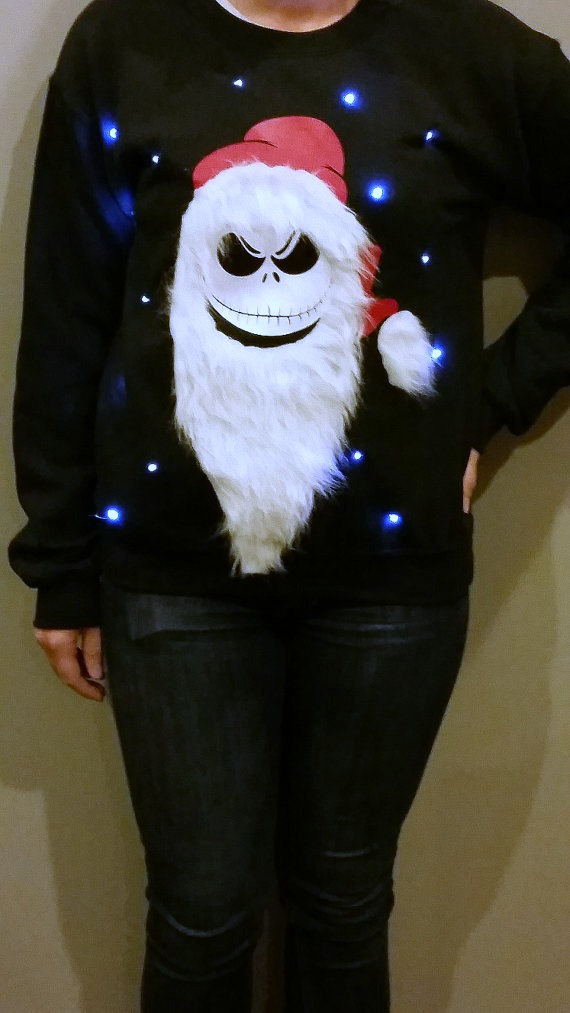 Light Up Ugly Christmas Sweater - Jack from LightUpSweaters on