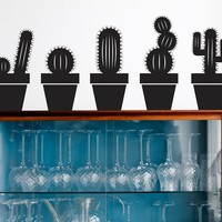 Vinyl wall sticker CACTUS by ferm LIVING