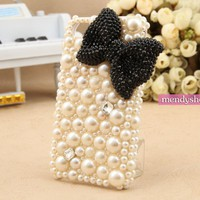 Pearl IPhone 4 Case Rhinestone Crys.. on Luulla