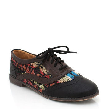 southwestern-oxfords BLACK - GoJane.com