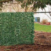 Fence Ivy, Chain Link Fence Decorations, Imitation Ivy | Solutions