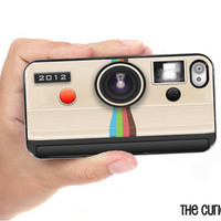 iPhone Case Instant Camera Vintage Style iPhone Hard Case / Fits Iphone 4, 4S