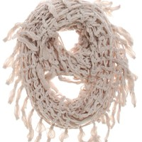 Roxy Open Knit Infinity Scarf - Womens Scarves