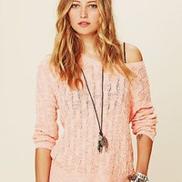 Free People Beach Cable Pullover
