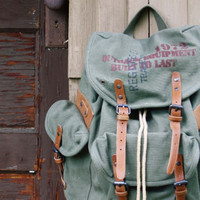 Sequoia Rugged Backpack in Sage, Women's Rugged Bags, Totes, & Backpacks