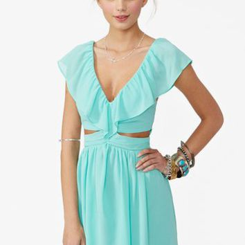 Lost Without You Dress - Mint