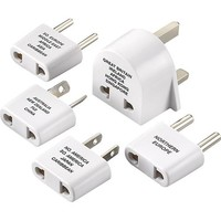 Dynex™ - International Adapter Plug Set (5-Pack)