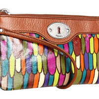 Fossil Key-Per East/West Wristlet