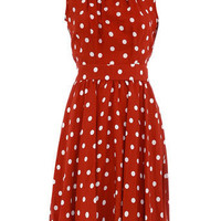 Rust spot sundress - Dorothy Perkins