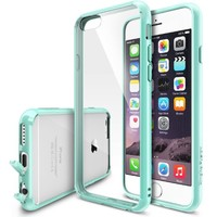 "iPhone 6 Case - Ringke FUSION iPhone 6 Case 4.7 "" **NEW** [Dust Cap/Drop Protection][MINT] Premium Crystal Clear Back Shock Absorption Bumper Hybrid Hard Case for Apple iPhone 6 4.7 Inch - Eco/DIY Package: Amazon.ca: Cell Phones & Accessories"