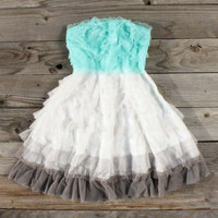 Tiers &amp; Tulle Party Dress, Sweet Women&#x27;s Country Clothing