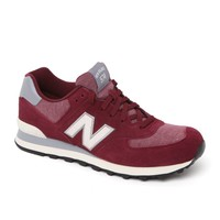 New Balance 574 Pennant Shoes - Mens Shoes - Maroon
