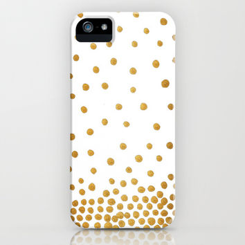 Gold Bubbles iPhone & iPod Case by Tangerine-Tane