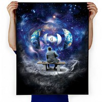 Imaginary Foundation Unfolding  Art Print - Art - Store