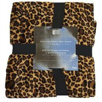Faux Fur Animal Throw - Cheetah - College Twin XL Bedding Stuff college dorm supplies dorm room essentials dorm stuff college products