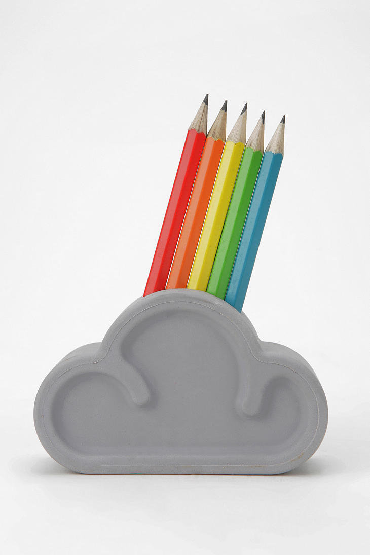 SUCK UK Cloud Pencil Set