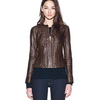 EMMY LEATHER JACKET