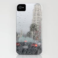 driving in the rain iPhone Case by Marianna Tankelevich | Society6