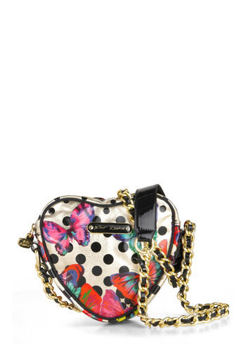 Betsey Johnson Carry Your Heart Handbag | Mod Retro Vintage Bags | ModCloth.com