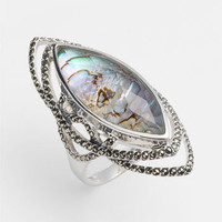 Judith Jack Abalone Doublet Ring | Nordstrom