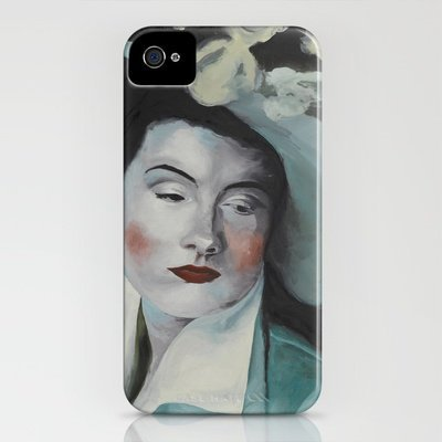 the hat iPhone Case by karien deroo | Society6