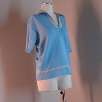 Vintage Light Blue Men's Shirt