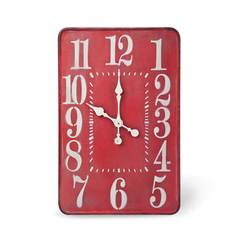 The Hours Are Long Wall Clock