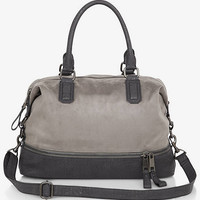 COLOR BLOCK SLOUCHY SATCHEL from EXPRESS