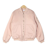 Soft Padded Bomber Jacket