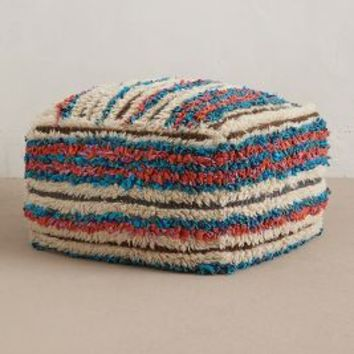 Boucherouite Pouf by Anthropologie Multi One Size Furniture
