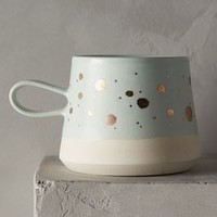 Gold-Flecked Mug by Anthropologie
