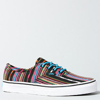 The Authentic Sneaker in Black Guate Stripe