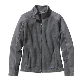 Patagonia Women's Simple Synchilla® Fleece Jacket | Nickel