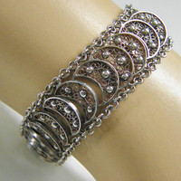 Antique Dutch Silver Filigree Bracelet