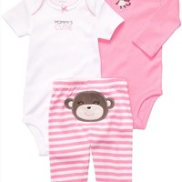 Carter's Baby Girls' 3 Pc Turn Me Around Set