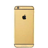 24K Yellow Gold Iphone 6 by Goldgenie - Moda Operandi