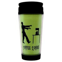 Kitschville — Coffee Zombie Funny Insulated Travel Mug