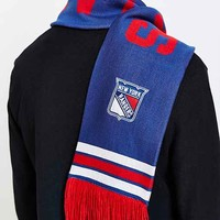 Mitchell & Ness Rangers NHL Throwback Scarf- Blue One