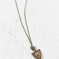 Pyrrha Two Wings Talisman Necklace- Silver One