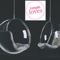 DesignShop UK -   Design Icons - Bubble Chair - leather