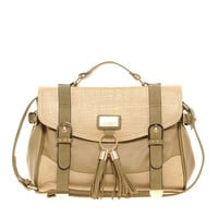 River island Tassel Front Satchel at asos.com
