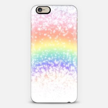 Rainbow Sparkly Explosion iPhone 6 case by Organic Saturation | Casetify