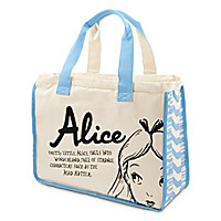 Alice in Wonderland Canvas Tote