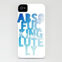 Abso....lutely! iPhone Case by Leah Flores | Society6