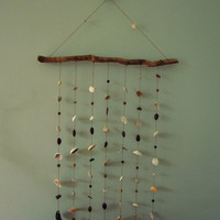 Natural Shell Mobile - Eco Home Decor Wall Hanging