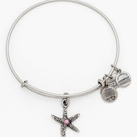 Women's Alex and Ani 'Arms of Strength' Charm Bangle - Russian